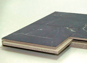 KERA-BOARD® Fertigteil-Estrich-Element mit Nut-Feder-Stufenfalz